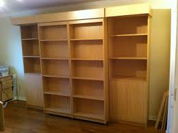 sliding bookcase murphy bed. Simple Bookcase Intended Sliding Bookcase Murphy Bed D