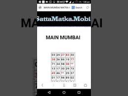 Oc Number Mumbai Chart Main Charts Diagrams Sketches