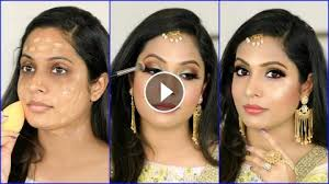 indian wedding makeup step by step