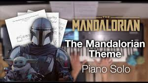 The mandalorian (main theme) sheet music by patrik pietschmann arranged for piano. The Mandalorian Theme Advanced Piano Solo With Sheet Music Youtube