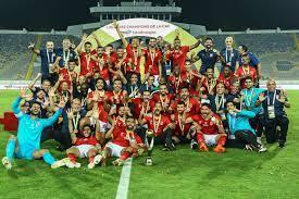 اندية عالمية وعربية تهنئ الاهلي على الفوز بالبطولة العاشرة