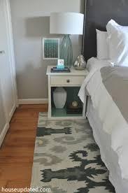 25 november 2016 guest bedroom ikat rug