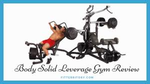 Body Solid Sbl460p4 Exercise Chart Body Solid Leverage Gym Review Is It Worth The Price 2019