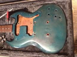 1969 gibson sg melody maker project making modding pretty brutal routs in these melody makers not to mention the extra section cut out to seat a humbucker in the bridge position