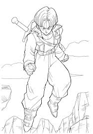 Printable Dragon Ball Z Coloring Pages Coloring Pages Printable Z