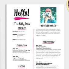 Resume Template Pages Enchanting Elegant Résumé Template 48 Pages Resume From LaurelResume On