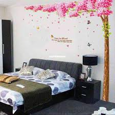 Cherry Tree Large Wall Stickers Bedroom Sofa Tv Background