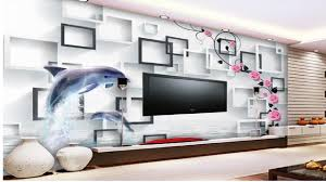 Small Picture Amazing Top 20 3d wallpaper Living Room Wallpaper Ideas YouTube