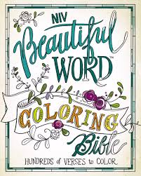 Niv Beautiful Word Coloring Bible Hardcover Hundreds Of Verses To