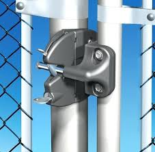 chain link fence gate lock. Chain Link Fence Gate Hardware Metal Locks  Latch Landscaping Lawn Care Panic Chain Link Fence Gate Lock O