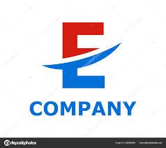 Types Of Light Blue Light Blue Red Color Logo Symbol Slice Type Letter Blade