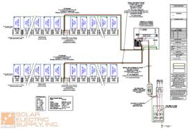 solar pv wiring diagram wiring diagram and hernes by to installing a solar photovoltaic system solar pv wiring diagrams electrical source