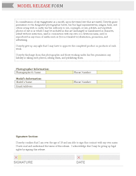 Release: Holly Research And Planning Model Release Form Jpg Free App ...