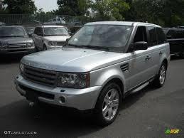 2006 Zambezi Silver Metallic Land Rover Range Rover Sport HSE ...