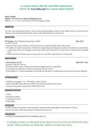 Civil Engineering Student Resume Format Freshers Meigenn Com