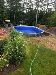 semi inground pools image gallery semi inground swimming pools41