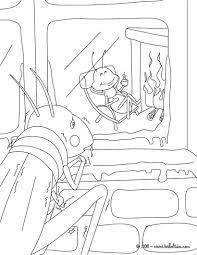 Small Picture The grasshopper and the ant coloring pages Hellokidscom