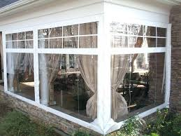 clear plastic vinyl patio curtains for porch walls uk
