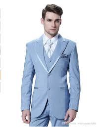 Light Blue Tuxedo Prom Light Blue Prom Suits Dress Yy
