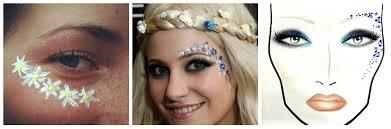 festival makeup inspiration throwback