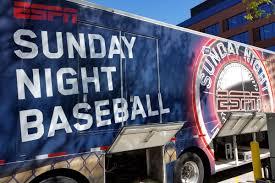 Cubs Cardinals Will Be On Espn Sunday Night Baseball Again