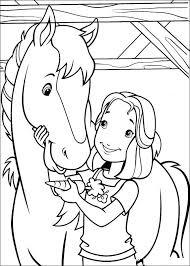 Kleurplaten Barbie Archidev Meiden Paard Kleurplaten Norskiinfo
