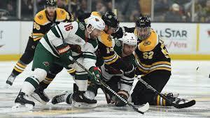 Bruins 3d Seating Chart Postgame Hat Trick Bruins 4 Wild 0