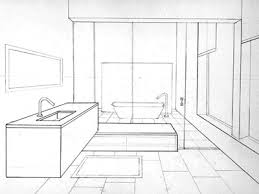 bathroom interior design sketches. Exellent Interior Bathroom Sketch Throughout Bathroom Interior Design Sketches I
