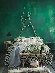 Schlafzimmer Ganz In Grün Schlafen Wie Im Dschungel