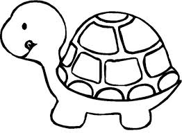 Small Picture Coloring Page Of A Turtle Cute Pages Free Printable Smlf Within
