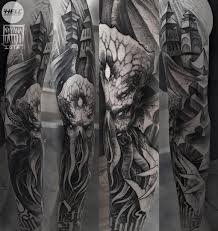 Cthulhu Tattoo Sleeve 109 Images In Collection Page 1