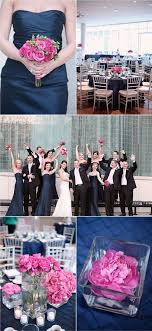 best 25 navy pink weddings ideas on pinterest blush wedding Wedding Colors Navy And Pink wedding color trends stylish patina www navy and hot pink wedding colors are amazing no black suits wedding colors navy blue and pink