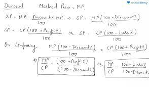 Profit Loss Formula Introduction And Basic Formulas In Hindi