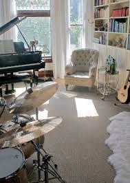 Bedroom: Boys Music Bedroom With Guitar Shelving - Boys Bedroom