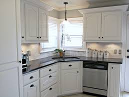 What Color Backsplash With White Cabinets Enchanting Kitchen Amusing White Kitchen Cabinets Ideas For Countertops And