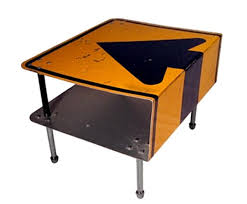 recycled industrial furniture. recycled furniture made with street signs industrial a