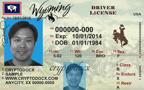 Uv License Wyoming Driver Holograms Markings