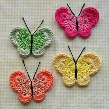 Free Crochet Butterfly Patterns
