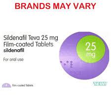 sildenafil tablets 25mg x 4 generic
