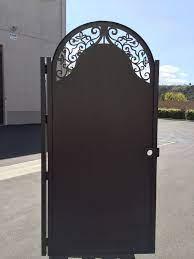 metal garden gates metal fence gates