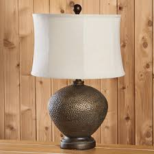 terrific hammered metal table lamp to the nines mw