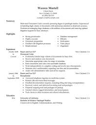 Document Specialist Job Description Resume Best Legal Coding Specialist Resume Example LiveCareer 1