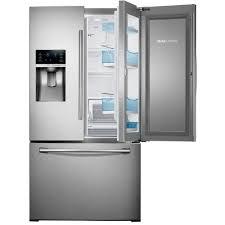 Energy Star Kitchen Appliances Samsung 36 Wide 28 Cu Ft 3 Door French Door Food Showcase