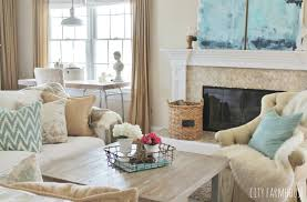 rustic style living room clever: diy abstract art mixing rustic coastal amp modern styles in the family room