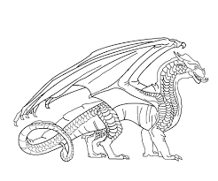 coloring pictures detail name wings of fire nightwing
