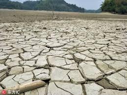 台灣烏山頭水庫上游「夢之湖」乾涸一片土地龜裂- 每日頭條