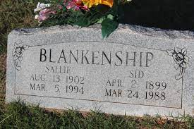 Sid Blankenship (1899-1988) - Find A Grave Memorial