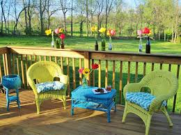wicker furniture is an excellent choice for decorating your balcony or garden ideas of painted wicker furniture for your inspiration