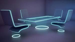 futuristic office furniture 3d model max 1