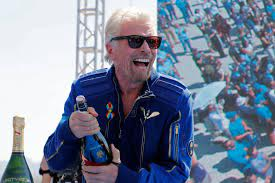 Billionaire Richard Branson Reaches ...